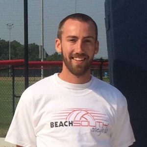 Kaleb Van de Perre Beach South Volleyball Coach
