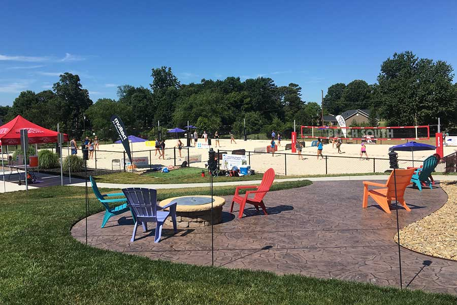 Beach South Volleyball Sandy Camp